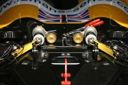 Detail of a suspension