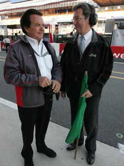Reinhold Joest et Daniel Poissonot