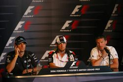 Thursday FIA press conference: Mark Webber, Jenson Button, David Coulthard
