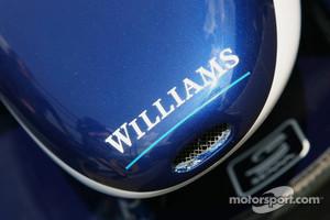 Close up of Williams F1 FW28 nose
