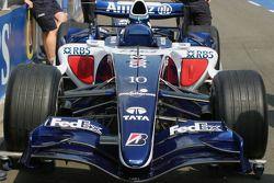 Close up of Williams FW28