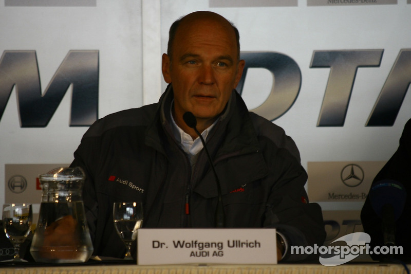 Press conference: Dr. Wolfgang Ullrich