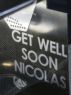 Mots d'encouragement pour Nicolas Lapierre