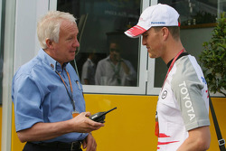 Charlie Whiting and Ralf Schumacher