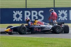 Neel Jani and Michael Ammermuller in trouble
