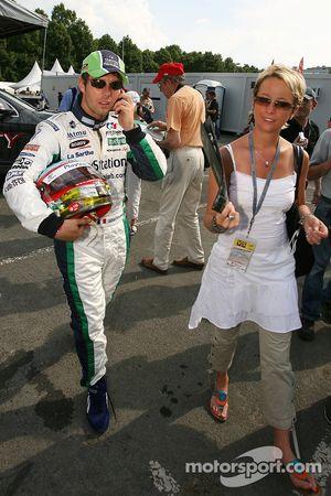 Sébastien Loeb with wife Séverine