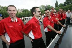 Swiss Spirit team members
