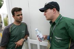Pedro Lamy et Tomas Enge