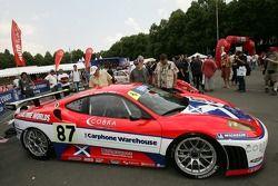 Scuderia Ecosse Ferrari 430 GT at scrutineering