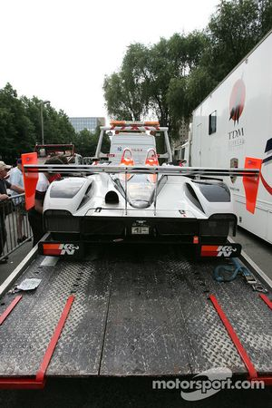 Intersport Racing Lola B05/40 AER heads back to the track
