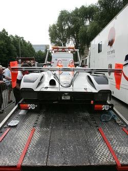 Intersport Racing Lola B05/40 AER de retour sur la piste
