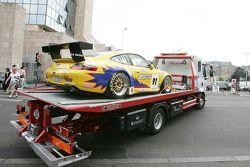 T2M Motorsport Porsche GT3 RSR heads back to the track