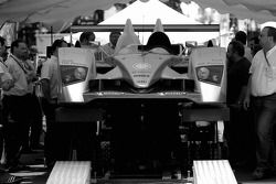 Audi Sport Team Joest Audi R10 at scrutineering