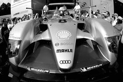 Audi Sport Team Joest Audi R10 is unloaded