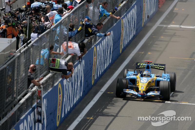 2006 (Сільверстоун). Переможець: Фернандо Алонсо, Renault R26