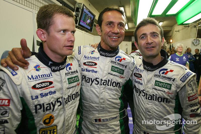 L'homme le plus rapide de la journée, Emmanuel Collard, avec Erik Comas et Nicolas Minassian