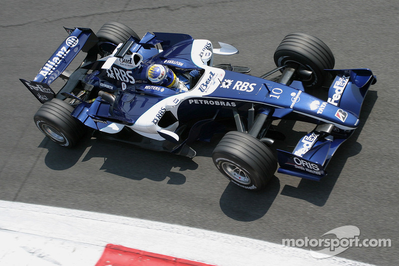 2006 (Nico Rosberg, Williams-Cosworth FW28)