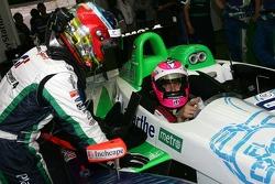Sébastien Loeb et Franck Montagny