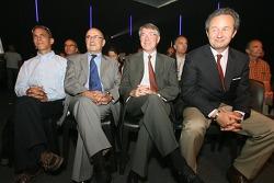 Peugeot Sport press conference: Éric Hélary and Peugeot Sport management