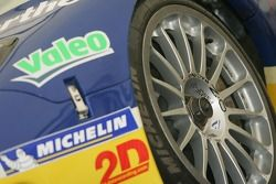 Luc Alphand Aventures Corvette C5-R in scrutineering