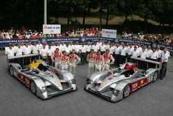 Audi Sport Team Joest Audi R10: Allan McNish, Rinaldo Capello, Tom Kristensen, Marco Werner, Frank B