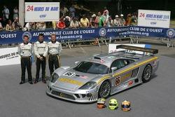 Terry Borcheller, Johnny Mowlem, et Christian Fittipaldi avec la ACEMCO Motorsports Saleen S7R