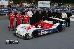 John Nielsen, Casper Elgaard, Philip Andersen, et l'équipe Zytek Engineering avec la Zytek Engineering Zytek 06S