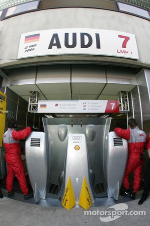 Nothing to see at Audi