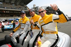 Miguel Amaral, Miguel Angel Castro and Warren Hugues