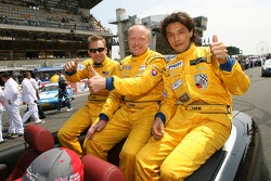 Jean-René de Fournoux, Miro Konopka et Yutaka Yamagishi
