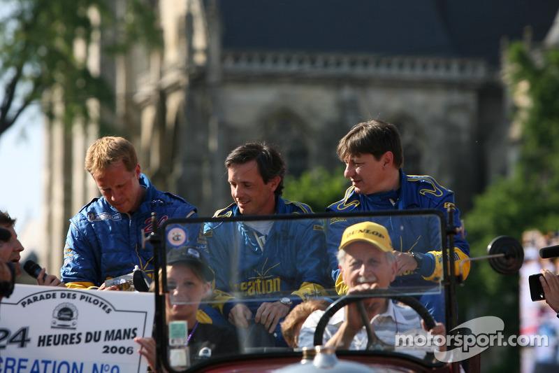 Felipe Ortiz, Giuseppe Gabbiani et Jamie Campbell-Walter