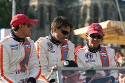 Romain Iannetta, Christian Lefort et Yves Lambert
