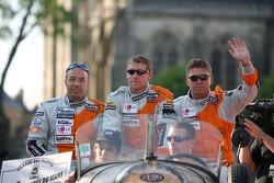 Tom Coronel, Peter Dumbreck et Donny Crevels