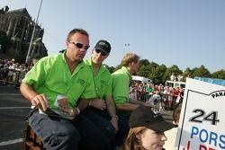 Nic Jonsson, Tracy Krohn et Jorg Bergmeister