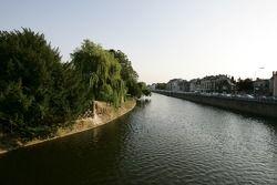 The Sarthe river