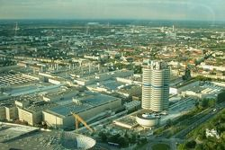 View, BMW plant Munich