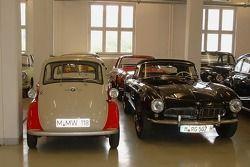 Various vintage BMWs