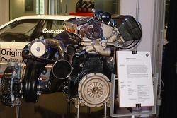 BMW engine on display