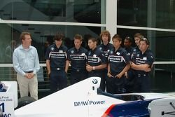 Les pilotes de BMW