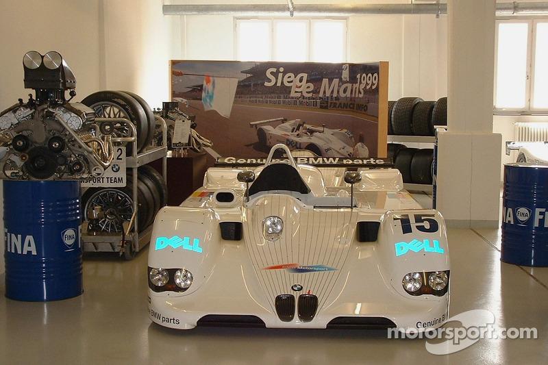 Sieger: Le Mans 1999 BMW V12 LMR