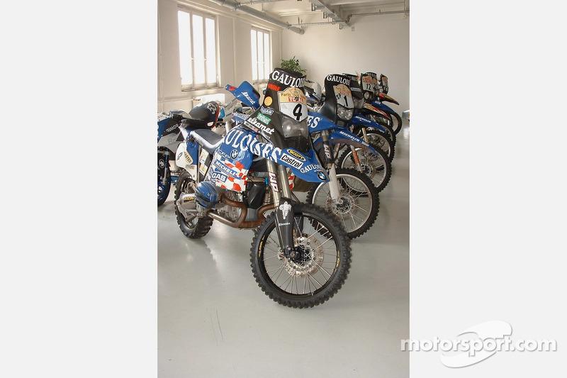 Paris-Dakar BMW motorcycles