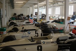 Various BMW race cars