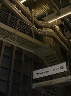 La soufflerie de BMW Sauber