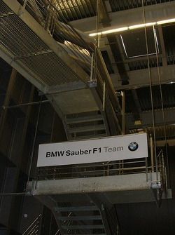 BMW Sauber wind tunnel