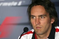 FIA press conference: Franck Montagny