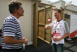 Dr. Mario Theissen and Ralf Schumacher
