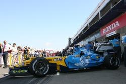 Renault sesión fotográfica con la nueva decoración