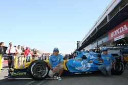 Fotos de Renault: Fernando Alonso y Giancarlo Fisichella con nueva decoración