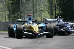 Fernando Alonso y Nico Rosberg