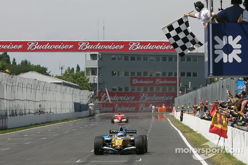 Fernando Alonso venceu no mesmo ano na Fórmula 1 com a Renault